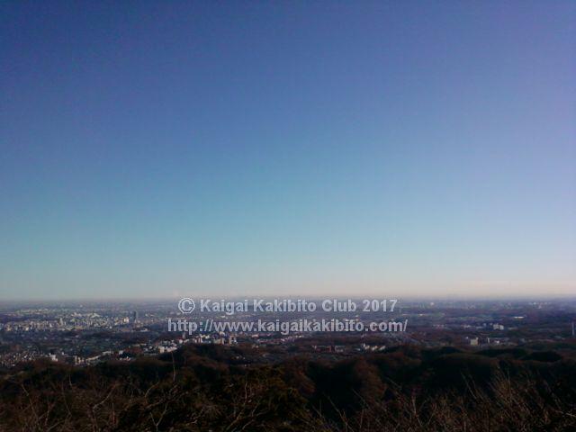高尾山1号路かすみ台展望台
