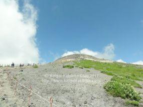 那須茶臼岳への登山道