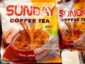 ミャンマーの紅茶入りインスタントコーヒー