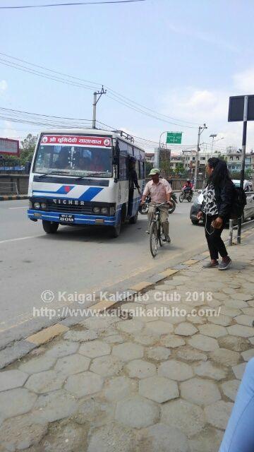 ネパールのバス