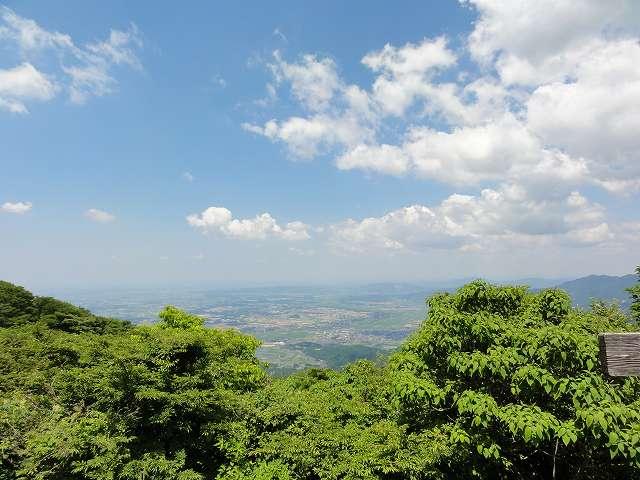 筑波山御幸ヶ原からの眺望