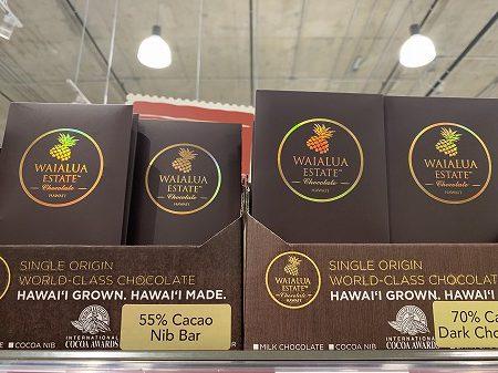 ハワイのチョコレート