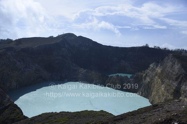 インドネシアのケリムツ国立公園