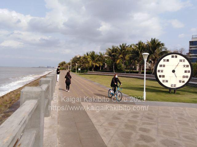 中国海南島2020年1月春節頃の閑散とした様子