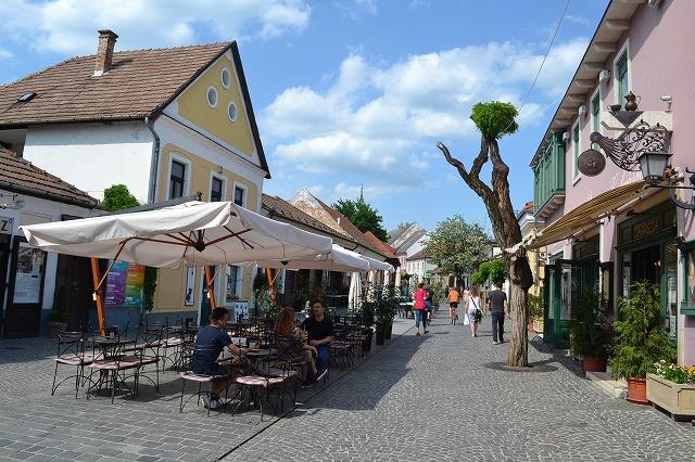 ハンガリー・センテンドレの街並み