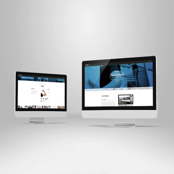 Spierballen – webdesign