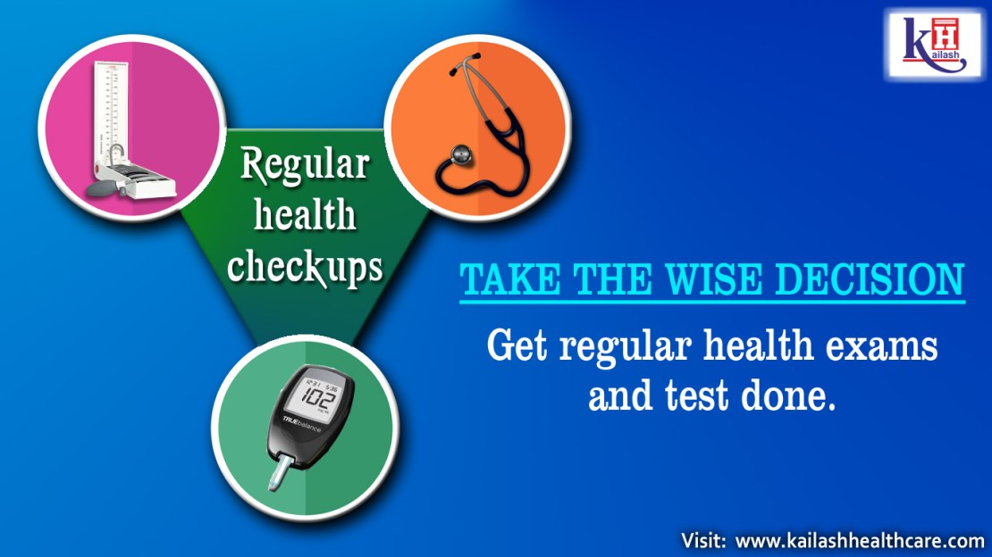 Get Regular Health Exams and Test Done