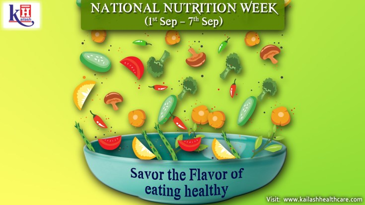NATIONAL NUTRITION WEEK (1st Sep – 7th Sep)