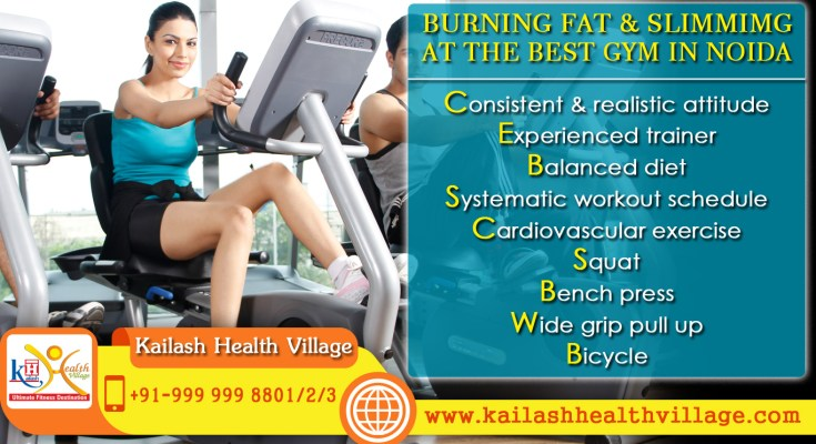 Burning Fat & Slimming at the Best Gym in Noida