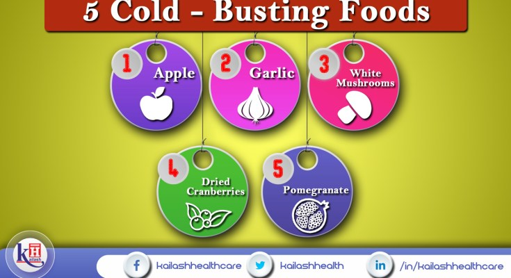 5 Foods that can help Fight Cold