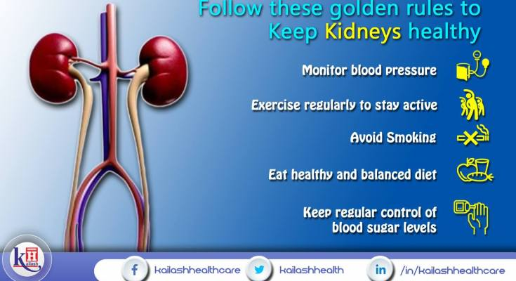 Your Healthy Kidneys just want you to follow these effective rules to Stay Healthy.