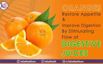 Oranges are citrus fruits that help boost immunity & improve digestion as they have natural digestive acids.