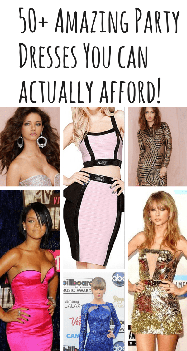 50+ Party Dress You Can Actually Afford
