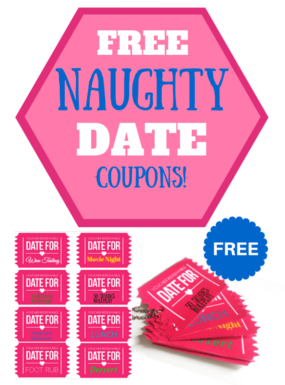 Free Printable Naughty and Nice Date Coupons