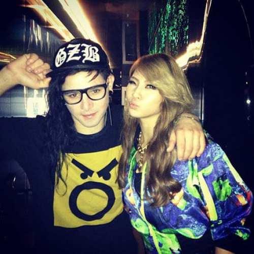 Skrillex & CL