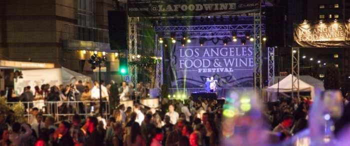 LA Food and Wine Crowd