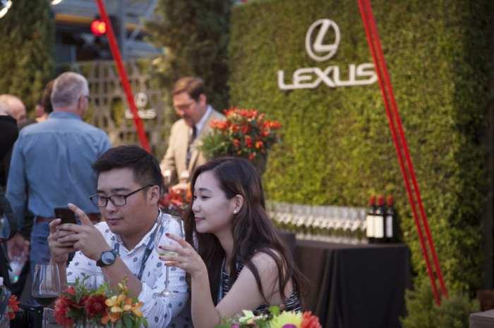 LA Food and Wine Lexus 2