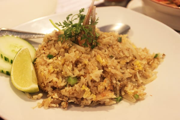 Ayara Thai Crab Fried Rice