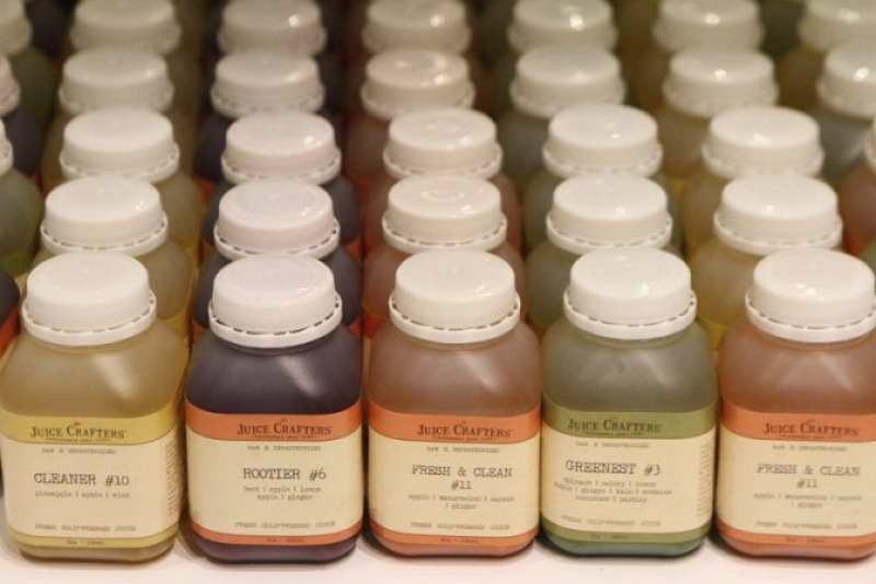 Juice Crafters at The Organic Shimmer Event