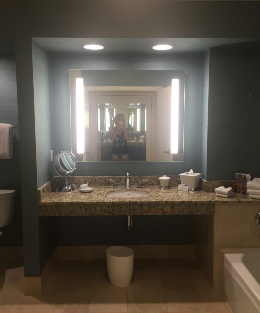 Hyatt Regency Indian Wells Bathroom Entrance