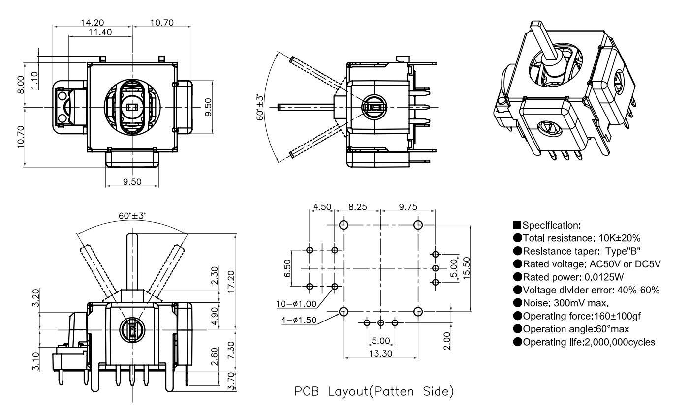 Chinaog Joystick Potentiometer For Controller Factory