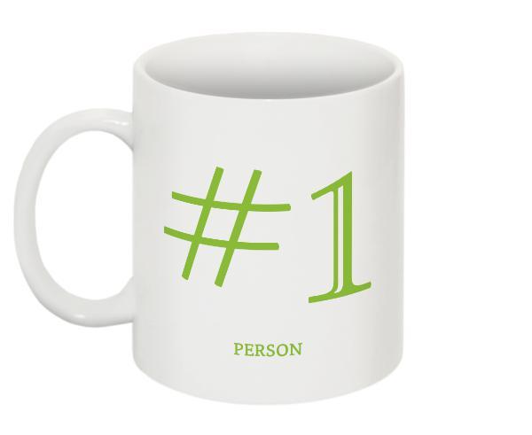 #1 Person Mug