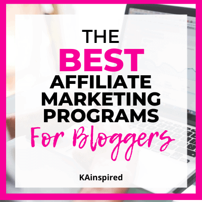 The Best Affiliate Marketing Programs