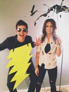 Thunder and lightning Halloween Costume #halloween #halloweencostume #halloweencouplecostume #couplecostume #diycostume #diyhalloween #diyhalloweencostume #KAinspired www.kainspired.com