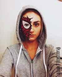 DIY Halloween Makeup Looks #halloween #halloweencostume #diy #diyhalloweencostume #diycostume #makeupideas #halloweencostumes #facepaint #makeup #spidermancostume #spiderman #kainspired