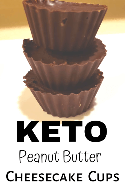 KETO PEANUT BUTTER CHEESECAKE CUPS