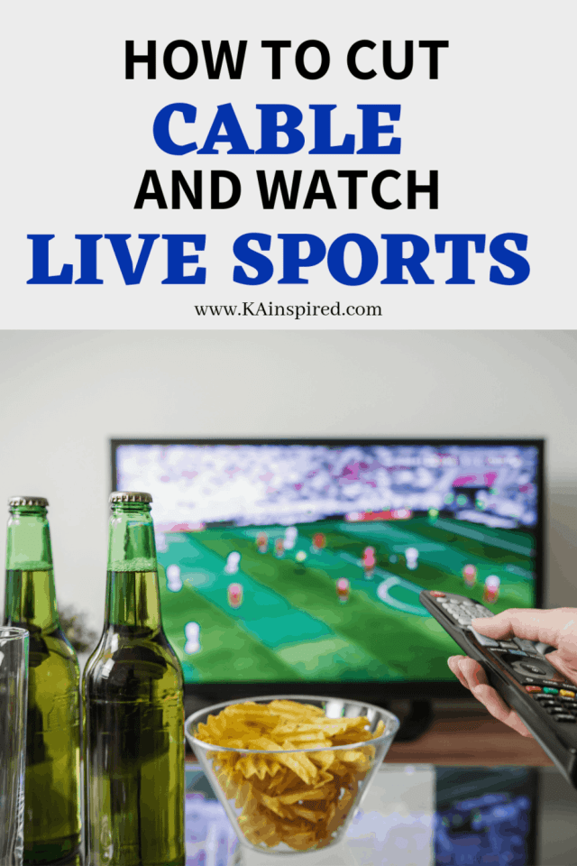 How to cut cable and watch live sports