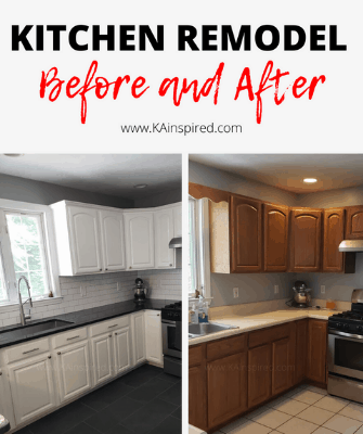 KITCHEN REMODEL BEFORE AND AFTER