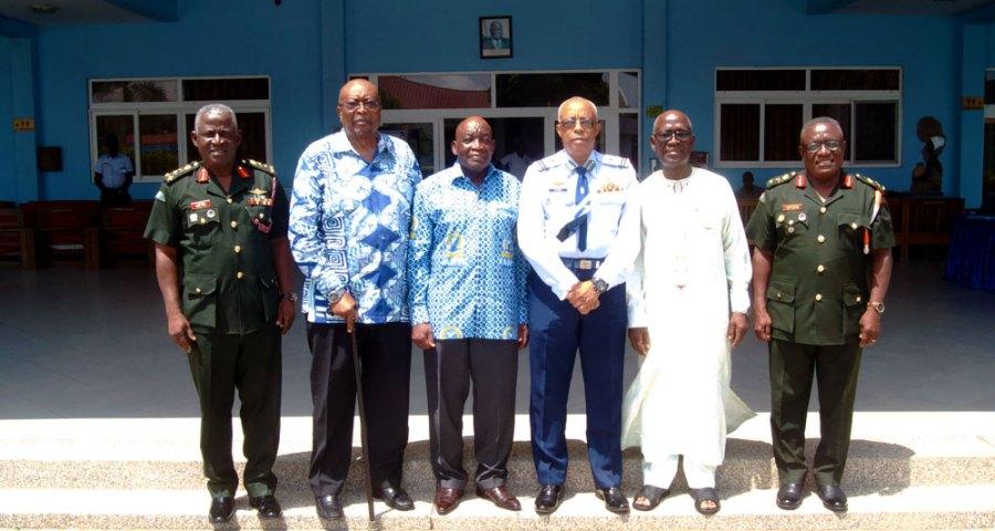 KAIPTC hosts former commandants to discuss of new KAIPTC strategic plan