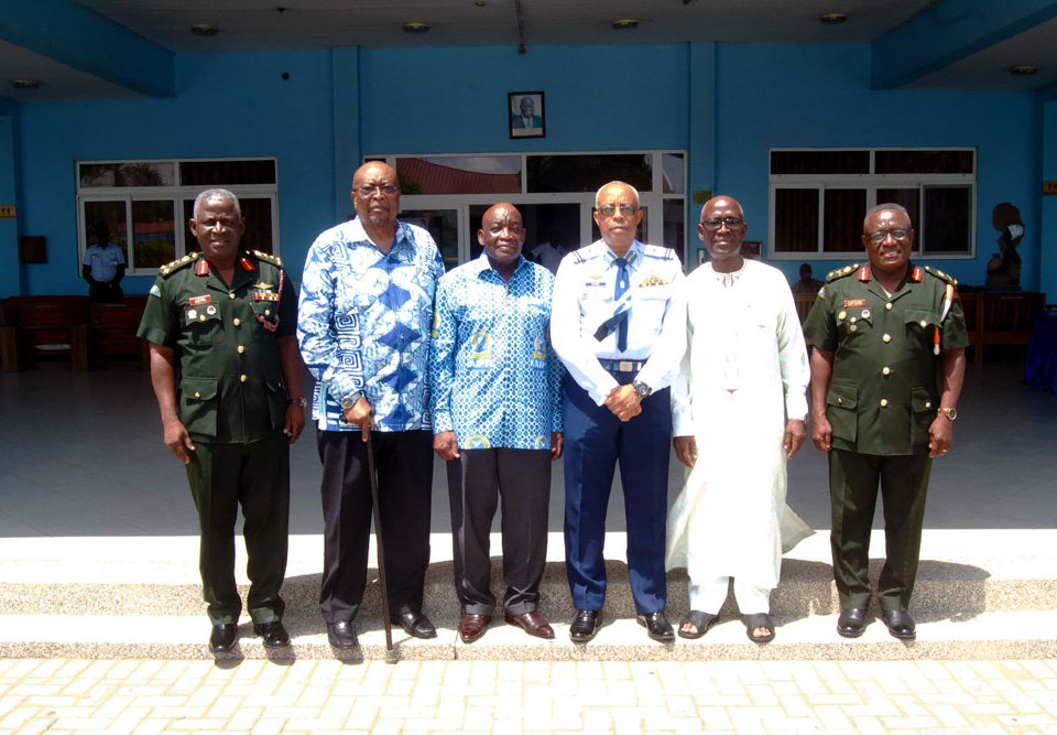 KAIPTC hosts former commandants to discuss of new KAIPTC strategic plan