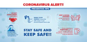 Preventive tips against coronavirus