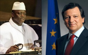 jammeh and eu chair