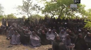 Video showing 130 kidnapped girls wearing hijab and reciting Quranic verses