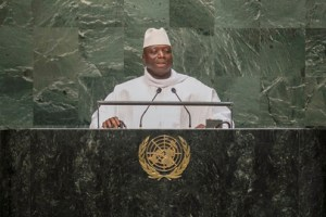 JAMMEH AT U.N