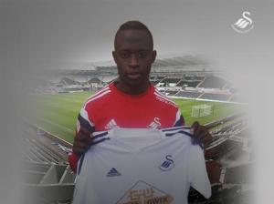 Gambian Footballer Modou Barrow Joing Swansea City