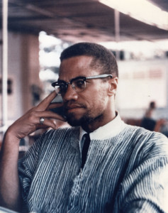 Malcolm X/Black Workers For Injustice Image