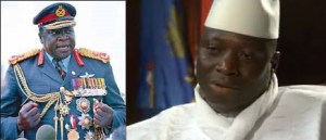 Idi Amin Dada and President Yahya Jammeh do not share generations but their behaviours are similar in every aspects!