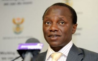 The Minister of Public Service and Administration Collins Chabane. Picture: GCIS.