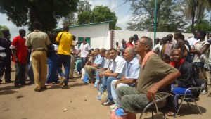 Prisoners waiting for their release/Gambia Affairs photo