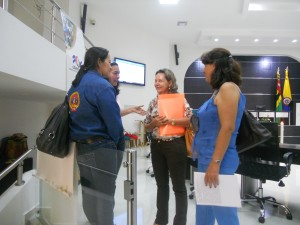 Yolanda Becerra, Gloria Amparo Suarez, OFP