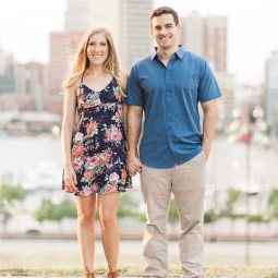Courtney + Drew | Fells Point & Federal Hill Engagement