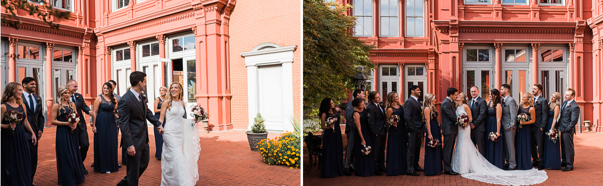 Kait Bailey Photography Baltimore Wedding Photographer 1840s Plaza Wedding