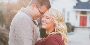 Amanda + Patrick | Main Street Sykesville Engagement Session