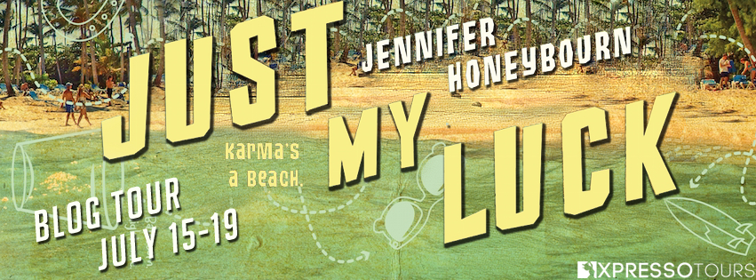 Blog Tour: Just My Luck by Jennifer Honeybourn (Interview + Giveaway!)