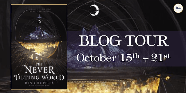 Blog Tour: The Never Tilting World by Rin Chupeco (Interview+ Giveaway!)