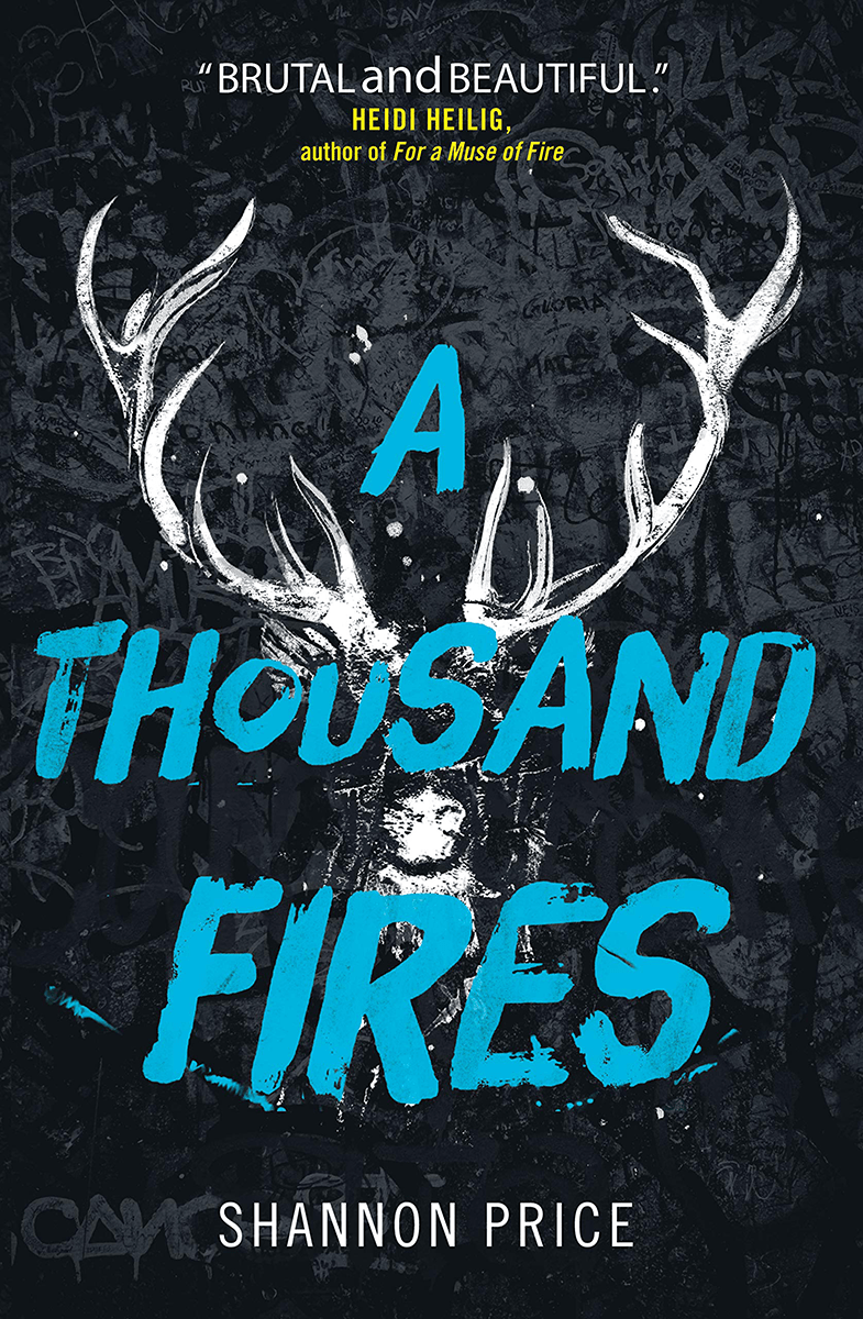 Blog Tour: A Thousand Fires by Shannon Price (Fill in the Blanks + Giveaway!)